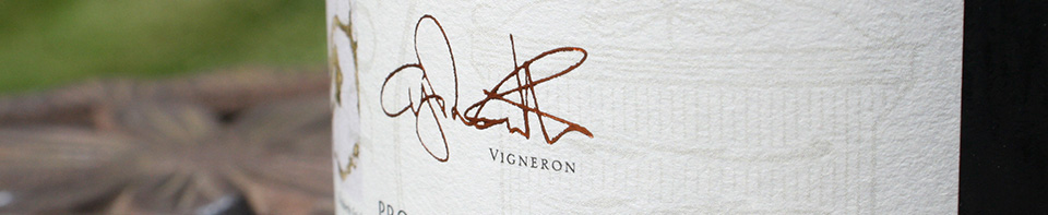 Wine Label Domaine Cinq Vents Vigneron Christopher Johnson-Gilbert